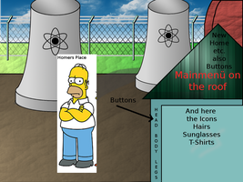 Homer Powerplant Background by LastScout