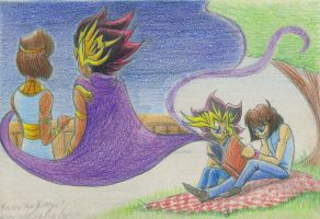 YGO--#1001--A Thousand and One Nights by Kineil-Wicks