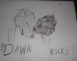 Dawn and Wicked by TheSilverSpirit