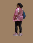 Woman in Pink Nikes by characterundefined