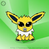 Baby Jolteon 4 my darling by TeamAquaDan