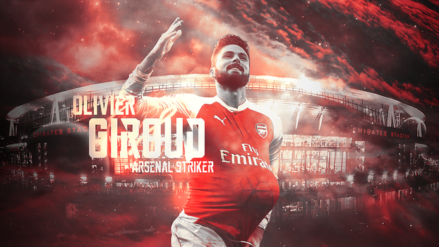 Olivier Giroud by LL-Lopez