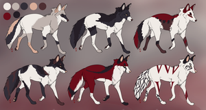 ADOPTABLES .:CLOSED:. Batch 3 by Mireille-Adopts