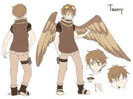 Character Sheet - Tawny by HatoriKumiko