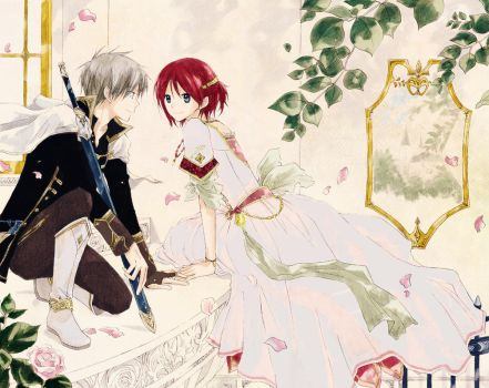 Zen+Shirayuki::On the Balcony by angel-cesia