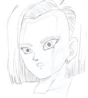 android 18 by aaa444nne