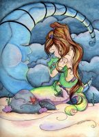 Dragon Lullaby by concettasdesigns