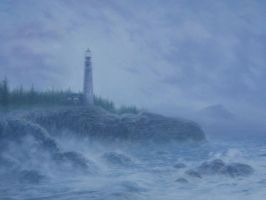 Jim's Lighthouse by Silas-Higgle