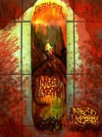 Infected Laceration - Skate Deck by Nino666