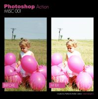 Photoshop Action - Misc 001 by primaluce