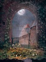 PREMIUM background - A Medieval-Place2 by Euselia