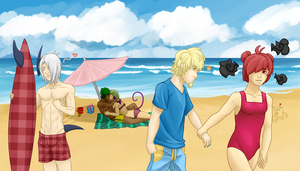 MC- Beach Fun by Art3misTheCactus