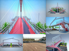 Footbridge + Photo-manipulation Collage Remake by prodesignsgfx