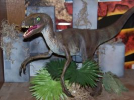Jurassic Park Velociraptor by Blade-of-the-Moon