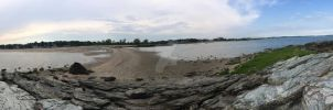 West Haven Beach by Chidi-The-Litleo