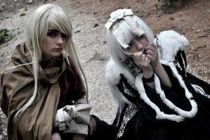 Alichino cosplay myoubi e ryouko by AliceBlueCherry