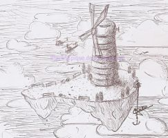 Windmill Island Sketch by MackSEpique