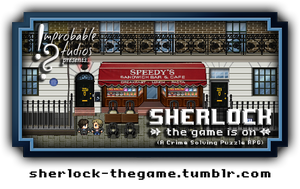 SHERLOCK: THE GAME IS ON (Banner) by SherlockTheGame