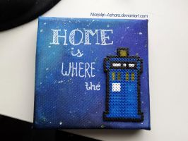 Home is where the TARDIS by Marjolijn-Ashara