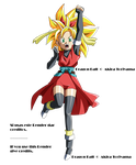 DB Heroes GM Heroine ssj v3 Render by Metamine10