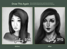 Draw This Again 2014-2015 by luneu