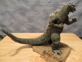 Image Godzilla 55 side view by Legrandzilla