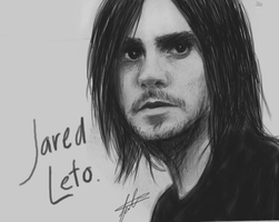 Jared Leto? by juliahiddles