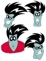 Freakazoid cleaned up003col by BDTXIII