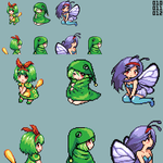 Moemon - Caterpie Family by CMagister