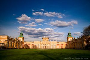 Wilanow Palace by SeaWhisper