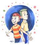 Phineas and Ferb by chill13