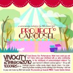 Project Carousel '10 Flyer One by sandshelltealeaf