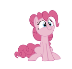 Pinkie Pie Pleased Silly by GeoNine