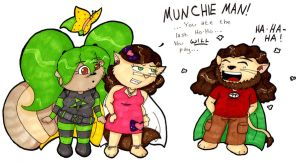Munchie Man by Pixelated-Beauty