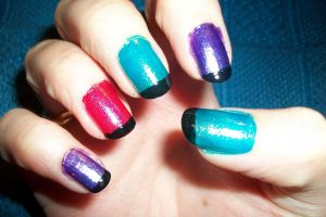 Lucretia colors nail art by butterfly1980