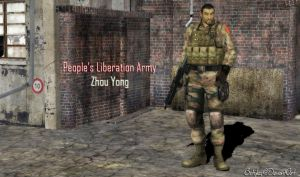 PLA Soldier SGT. Zhou Yong (XPS Updated) by bstylez