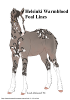 Foal desing 193/194 for Ending Stories by LiaLithiumTM