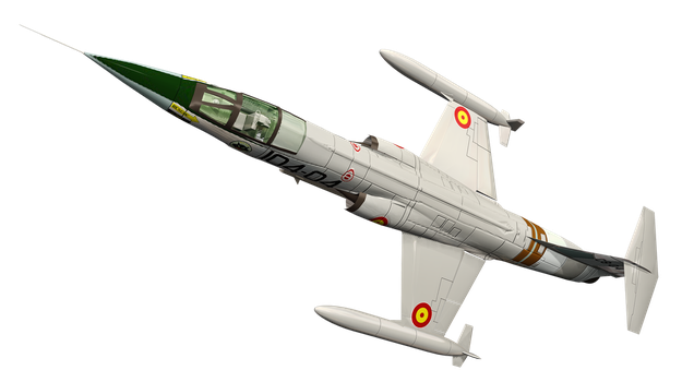 Fighter Jet 03 by Roy3D