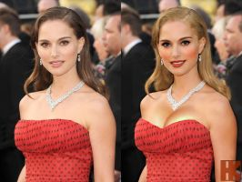 Natalie Portman - Before and After by hskfmn