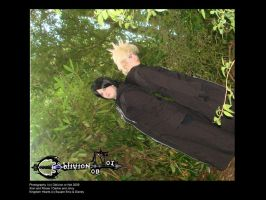 Roxas + Xion - Untill the end by OblivionOrNot
