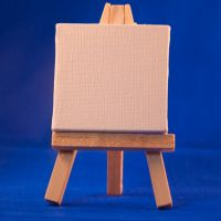 Painter's Easel by Ymntle-Stock