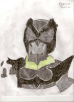 Psycho Ranger's: Black by DarkAlicornWarrior