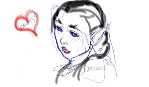 Intuos4 - first sketch by Beomene