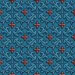 Cinnamon 3D Pixel Pattern by cloud-no9