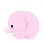 Pink Elephant by Flammchen