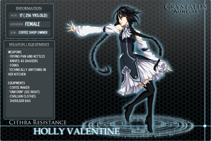 CA: Holly Valentine by bente36