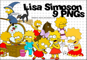 Lisa Simpson PNGs by runaways-rocks