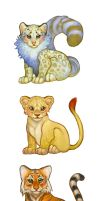 Baby Big Cats iPad game by oneKATIE