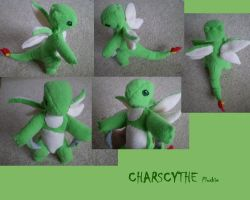 Charscythe Plushie by Silverbirch