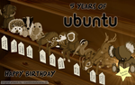 5 Years of Ubuntu by doctormo